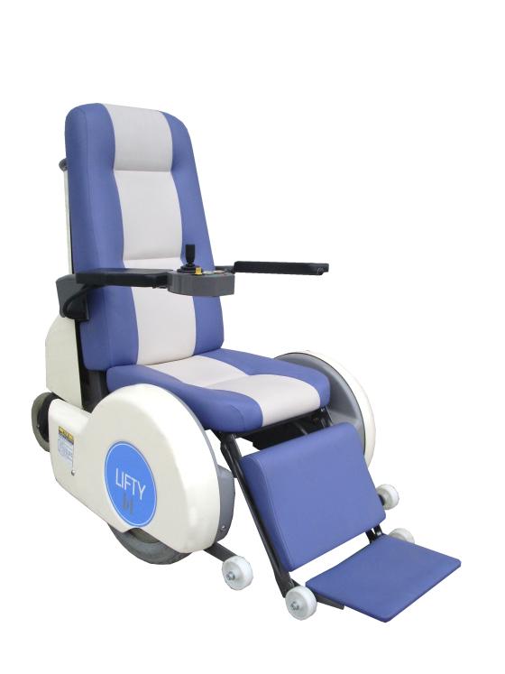 高リフト付電動車椅子リフティハイ