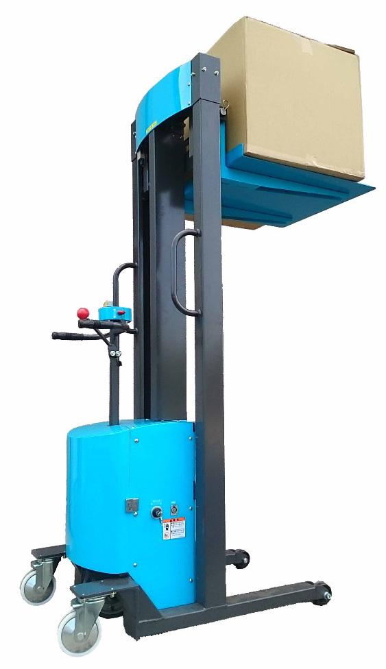 自走式電動フォークリフトKL200の外観