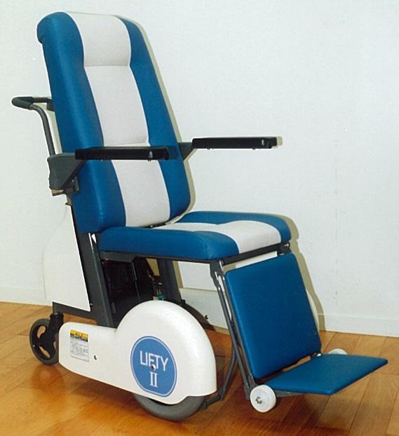 リフト付介助用車椅子リフティⅡ